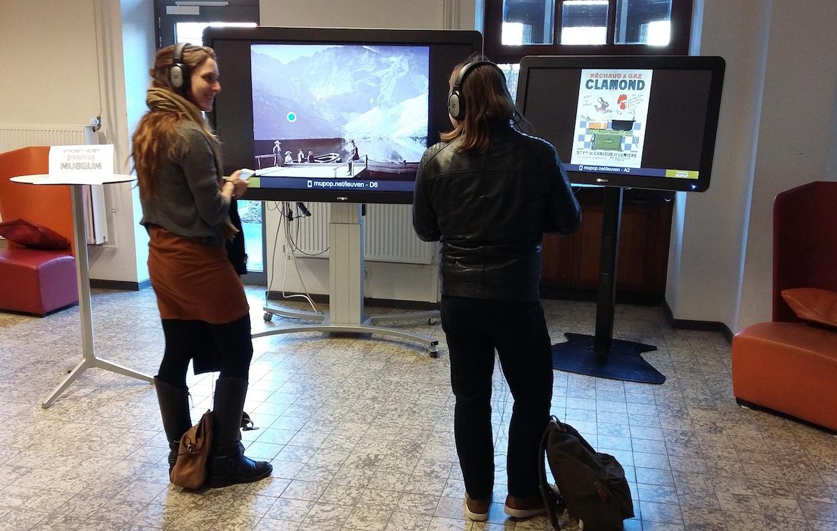 Pop-up exhibition in Leuven – MUPOP